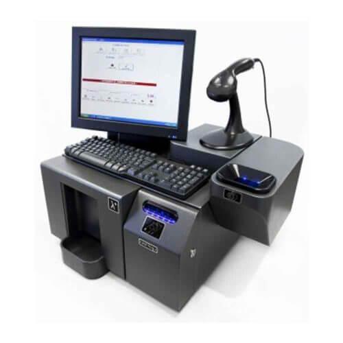 Cashlogy POS 1500 EU sin Stacker - TPV con control de efectivo