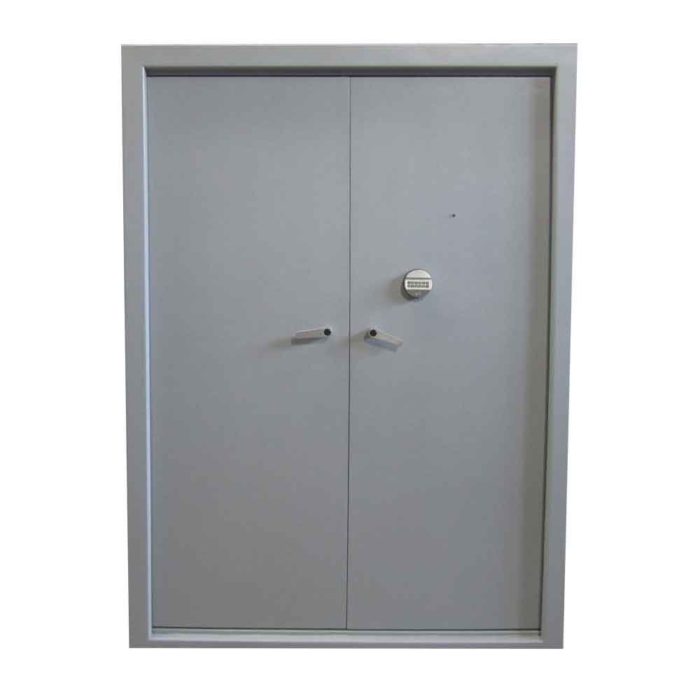 Pi13 puerta met lica de alta seguridad puerta met lica for Puertas de paso metalicas