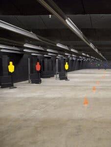Galeria de tiro objetivos multiples