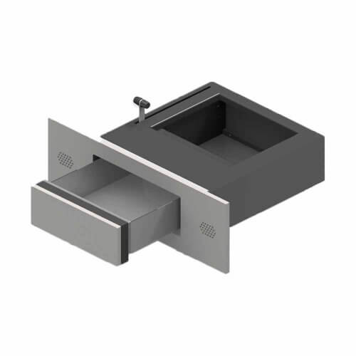 Pass-through tray for facades P7195/FB4